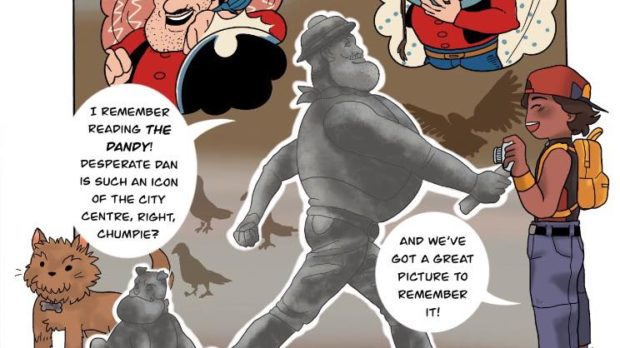 A snippet from Amy's web-comic.