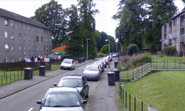 Wiston Place, Dundee (stock image).