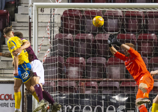 Callum Hendry's winning goal.