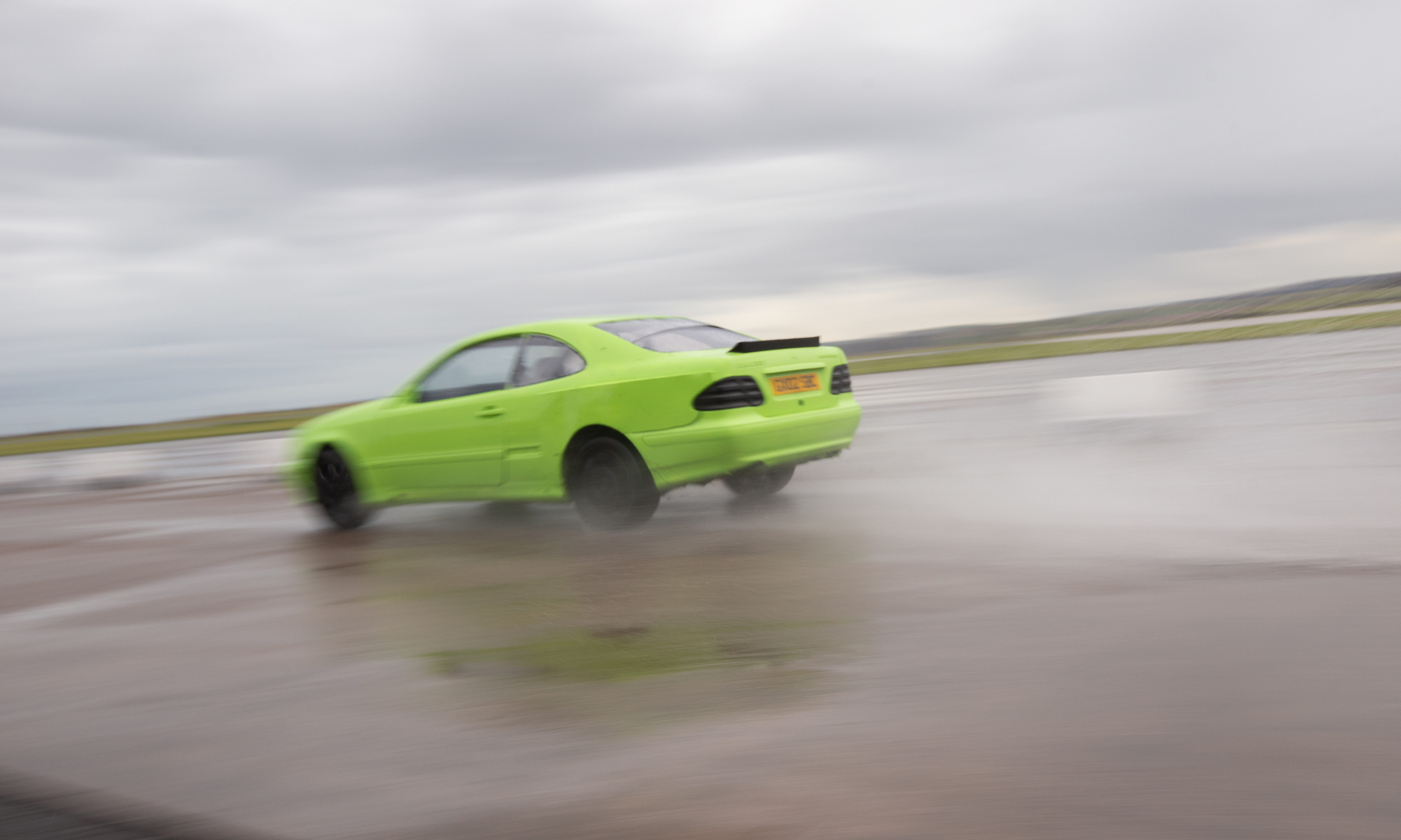 Action from the REME drag race