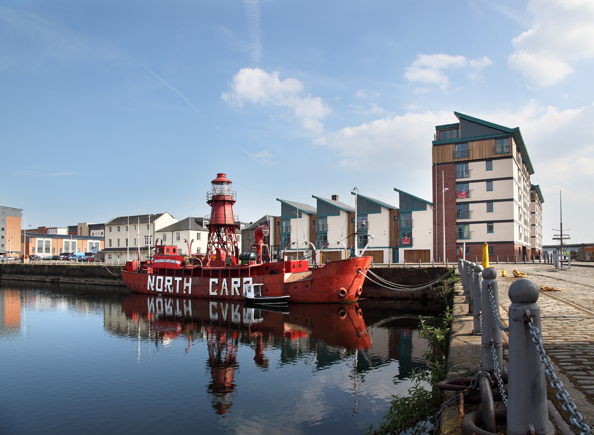 The North Carr Lightship.
