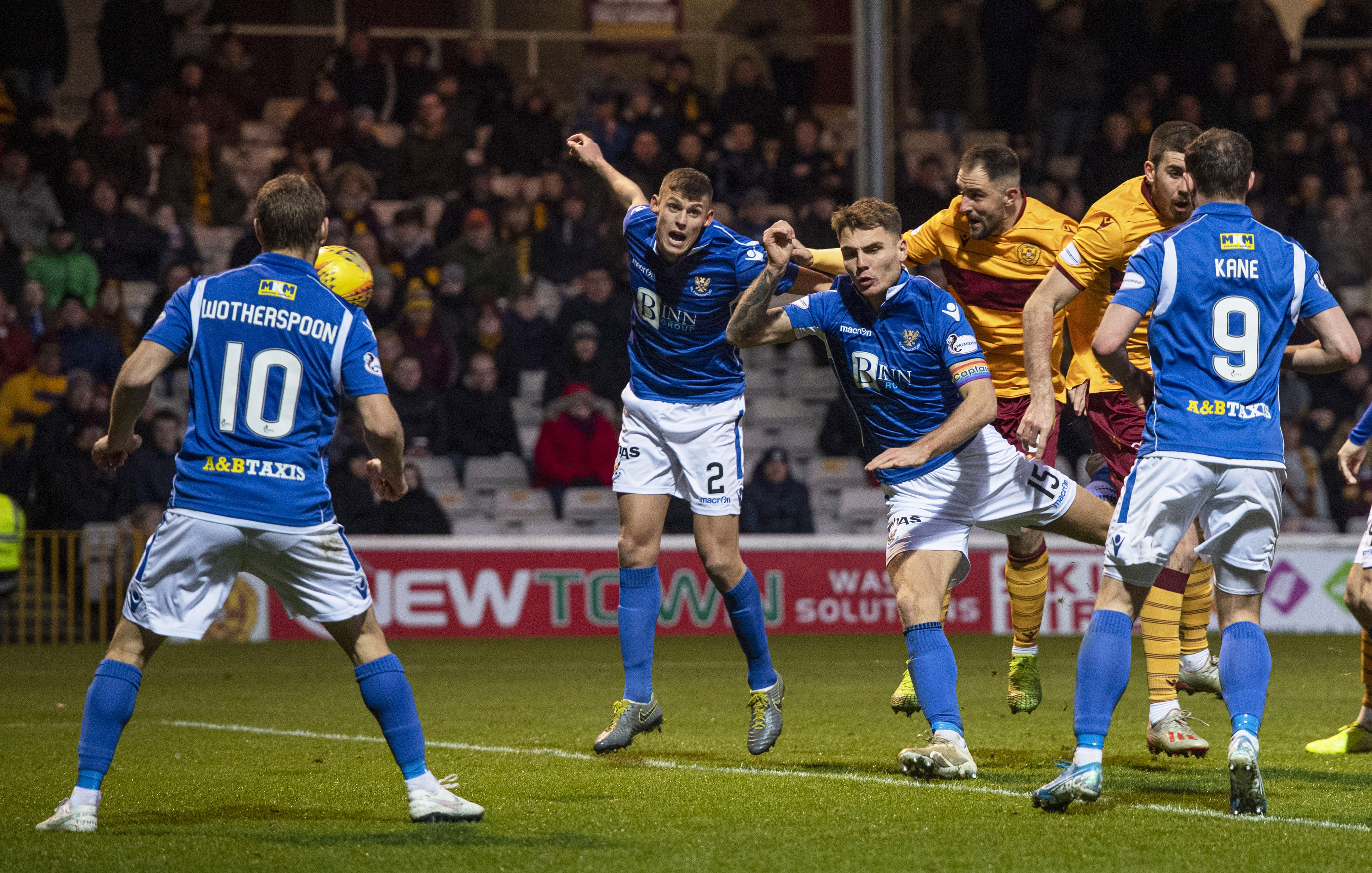 Motherwell's second goal.