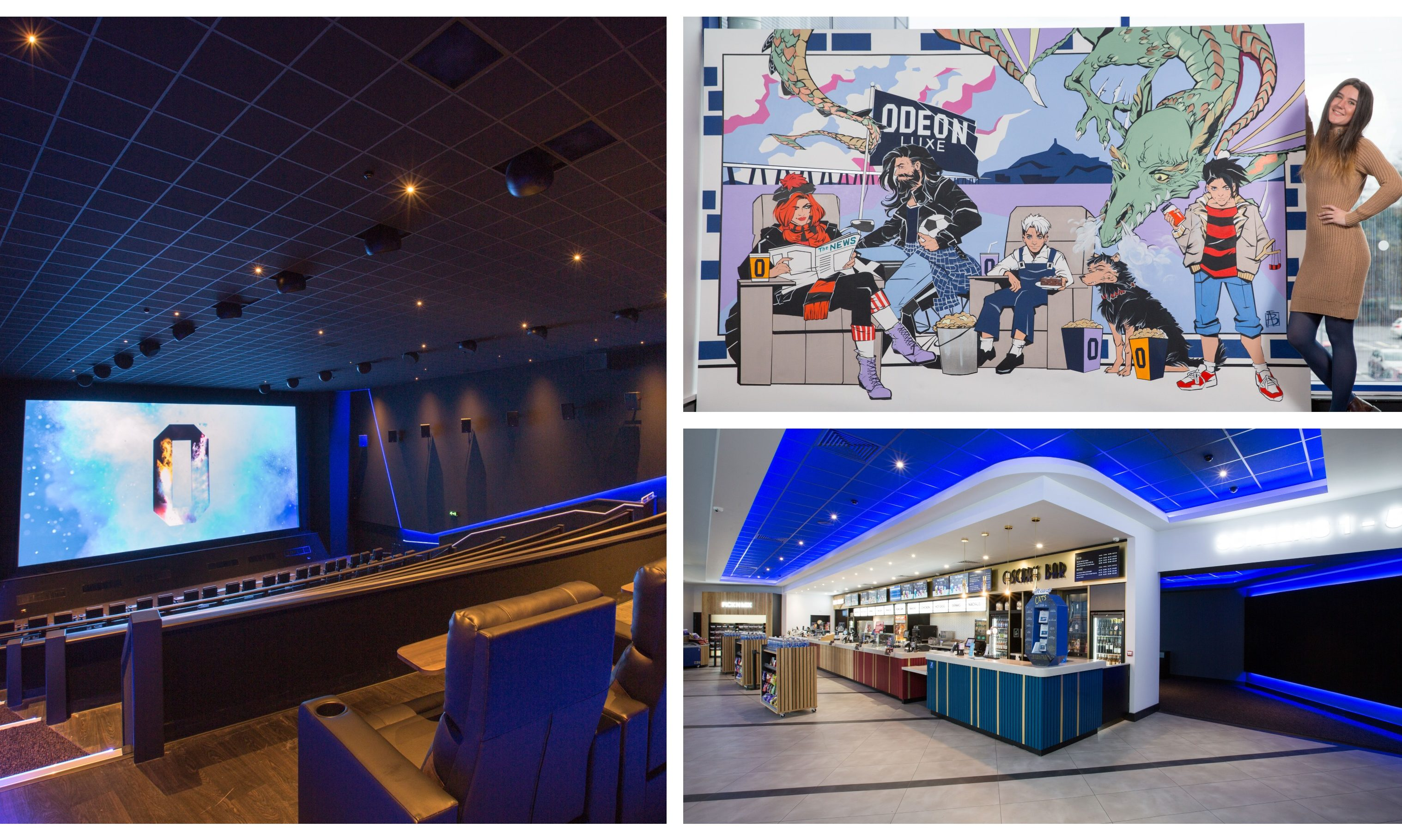 The Odeon in Douglas has reopened.
