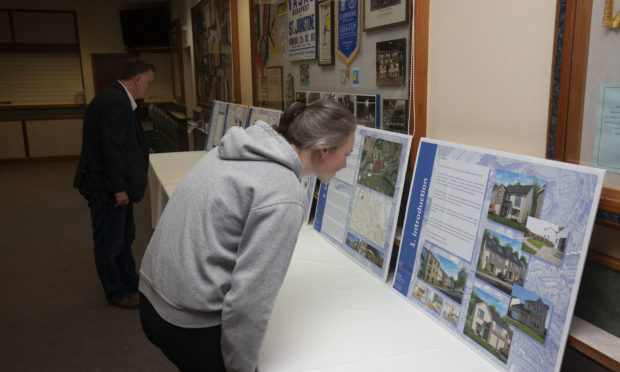 A public consultation was held to provide information about the potential new housing development at McDiarmid Park last week.
