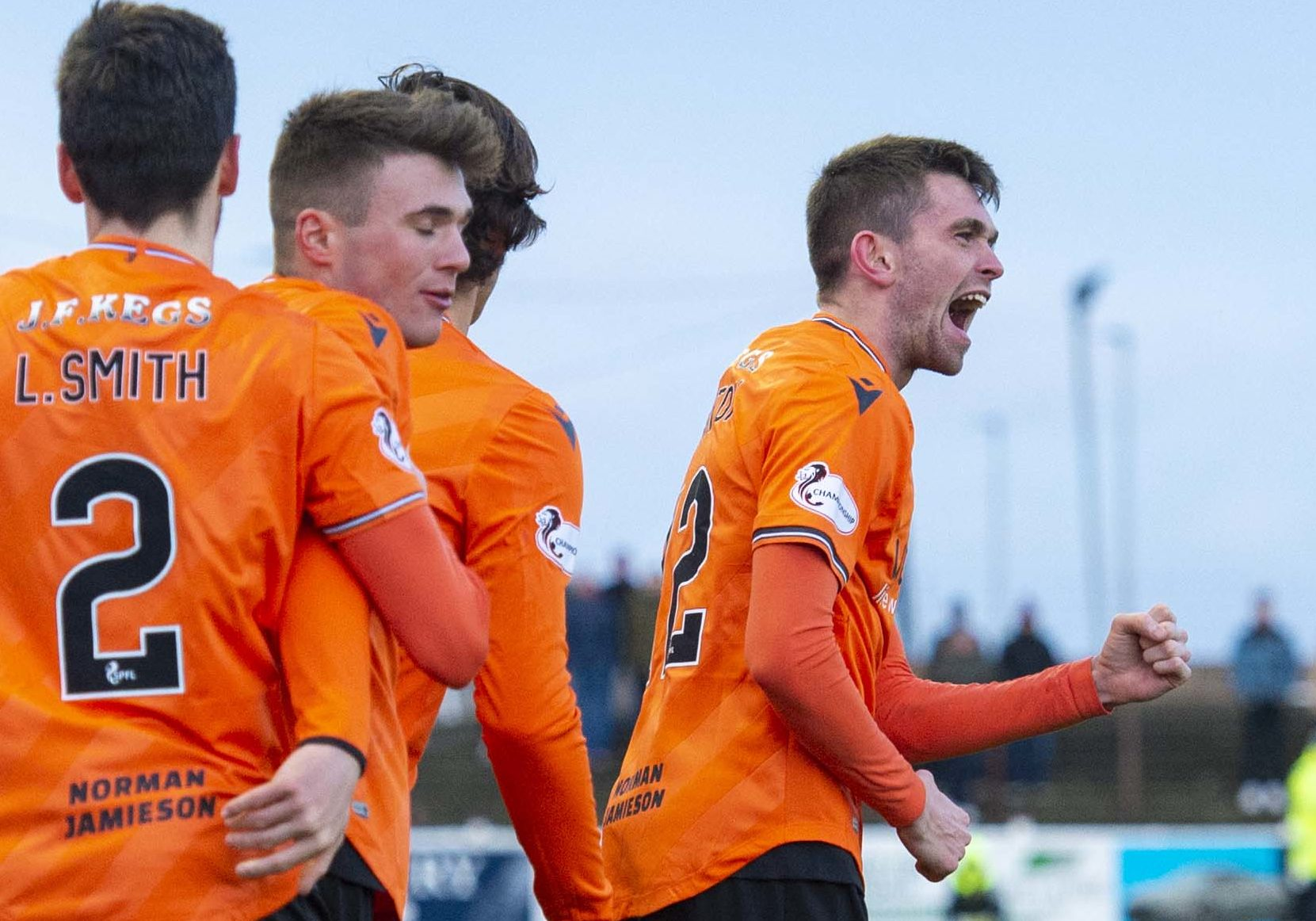 Sam Stanton scored the winner for Dundee United at Arbroath.