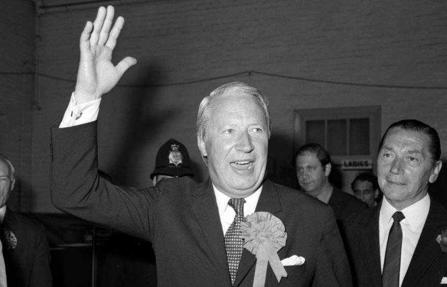 Sir Ted Heath took Britain into what became the EU.