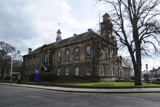 Kirkcaldy Police Station.