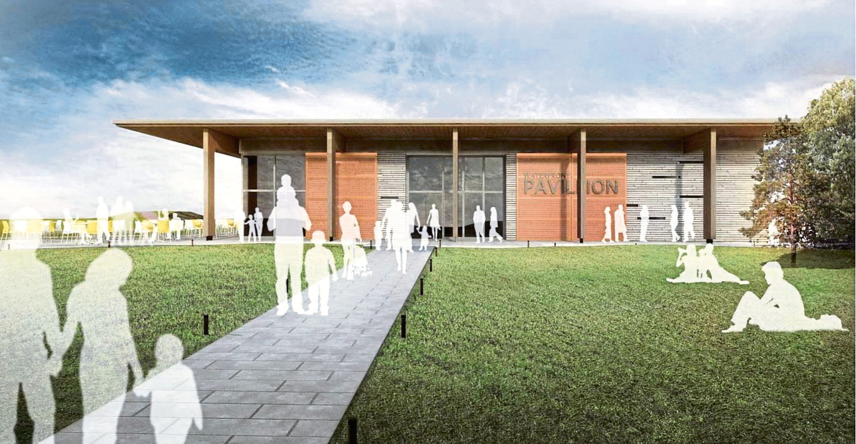 Monifieth Community Centre design front.