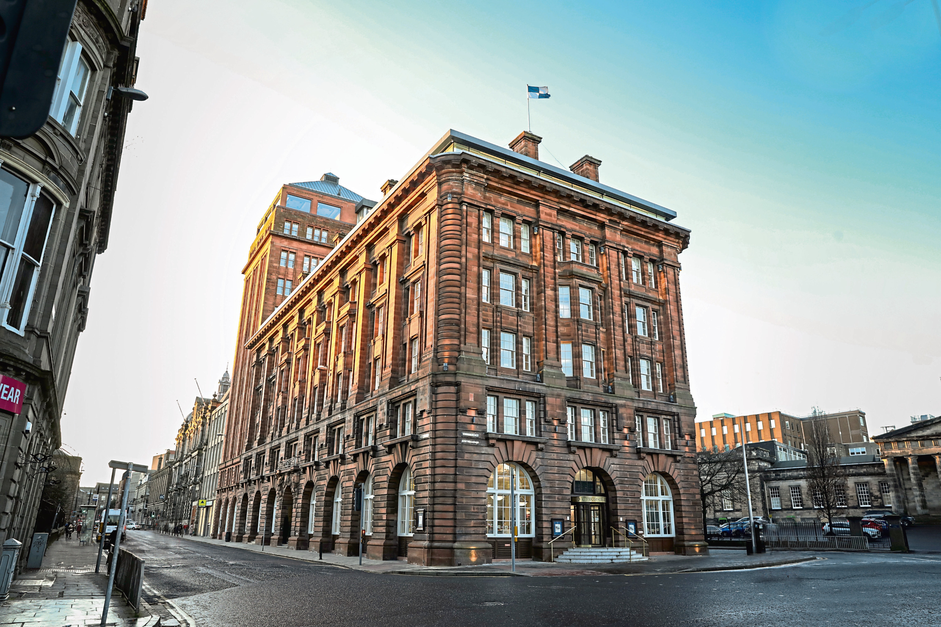 The DC Thomson headquarters in Dundee city centre