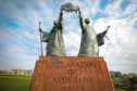 Declaration of Arbroath statue.