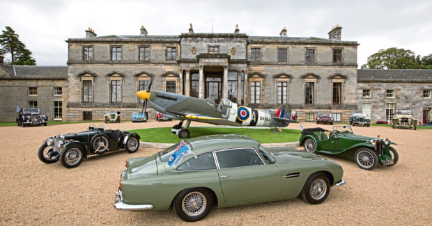 The property and grounds has attracted a number of prestigious events. Picture: Robert Perry.