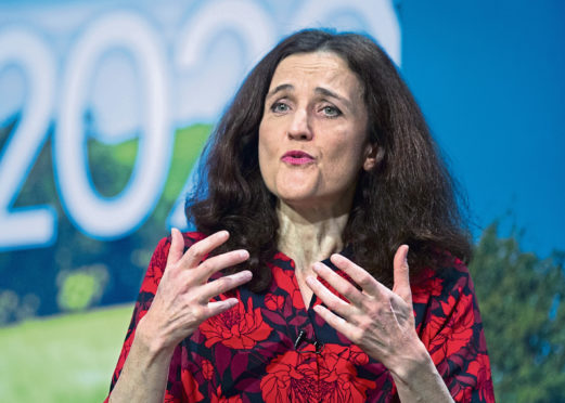 """Theresa Villiers said the UK will """"not dilute our strong environmental protection""""."""