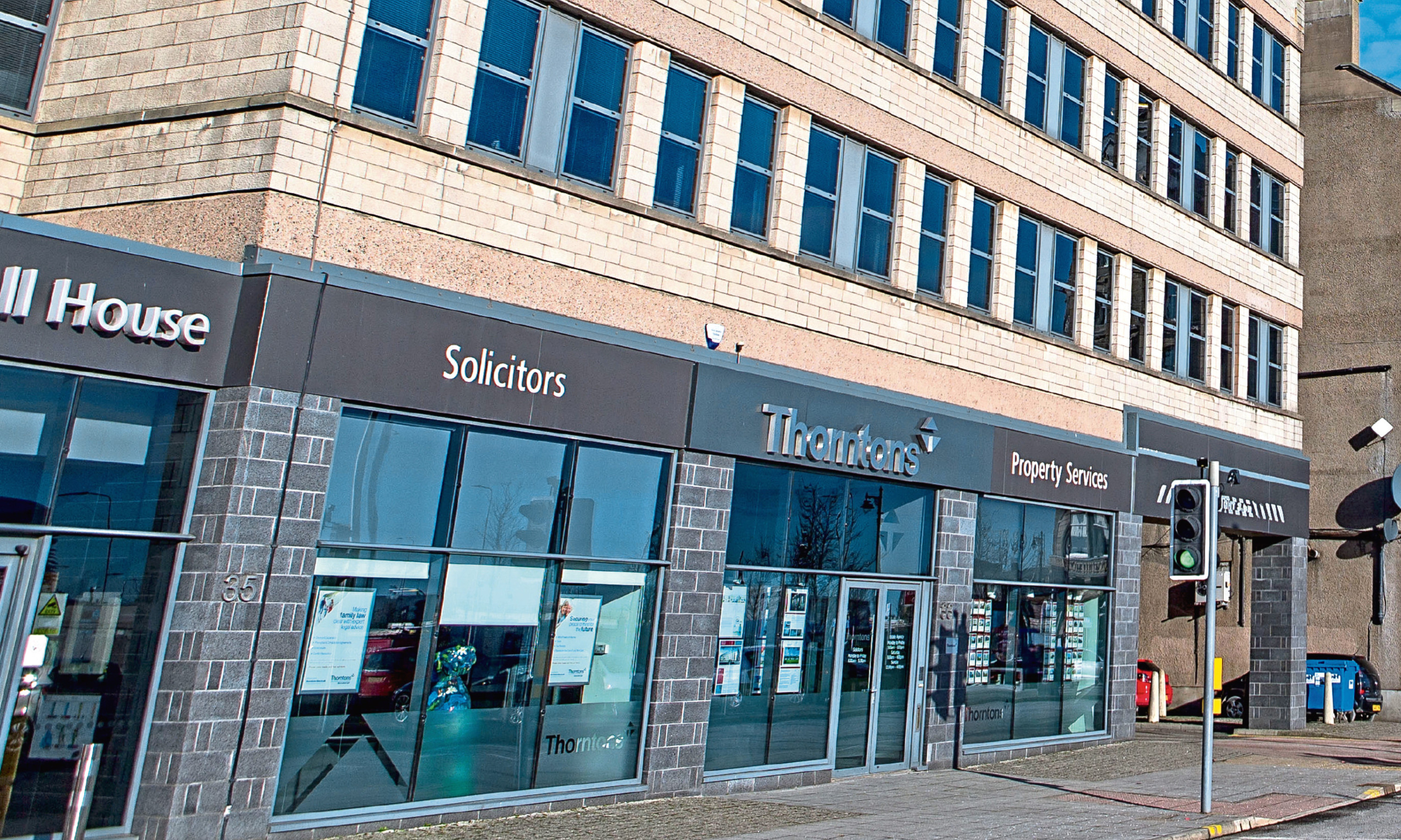 Thorntons Investments is housed within the Thorntons building in Dundee.