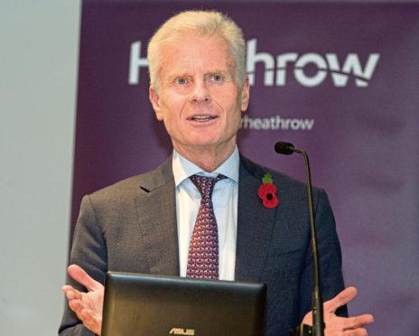 Lord Paul Deighton, chairman of Heathrow Airport