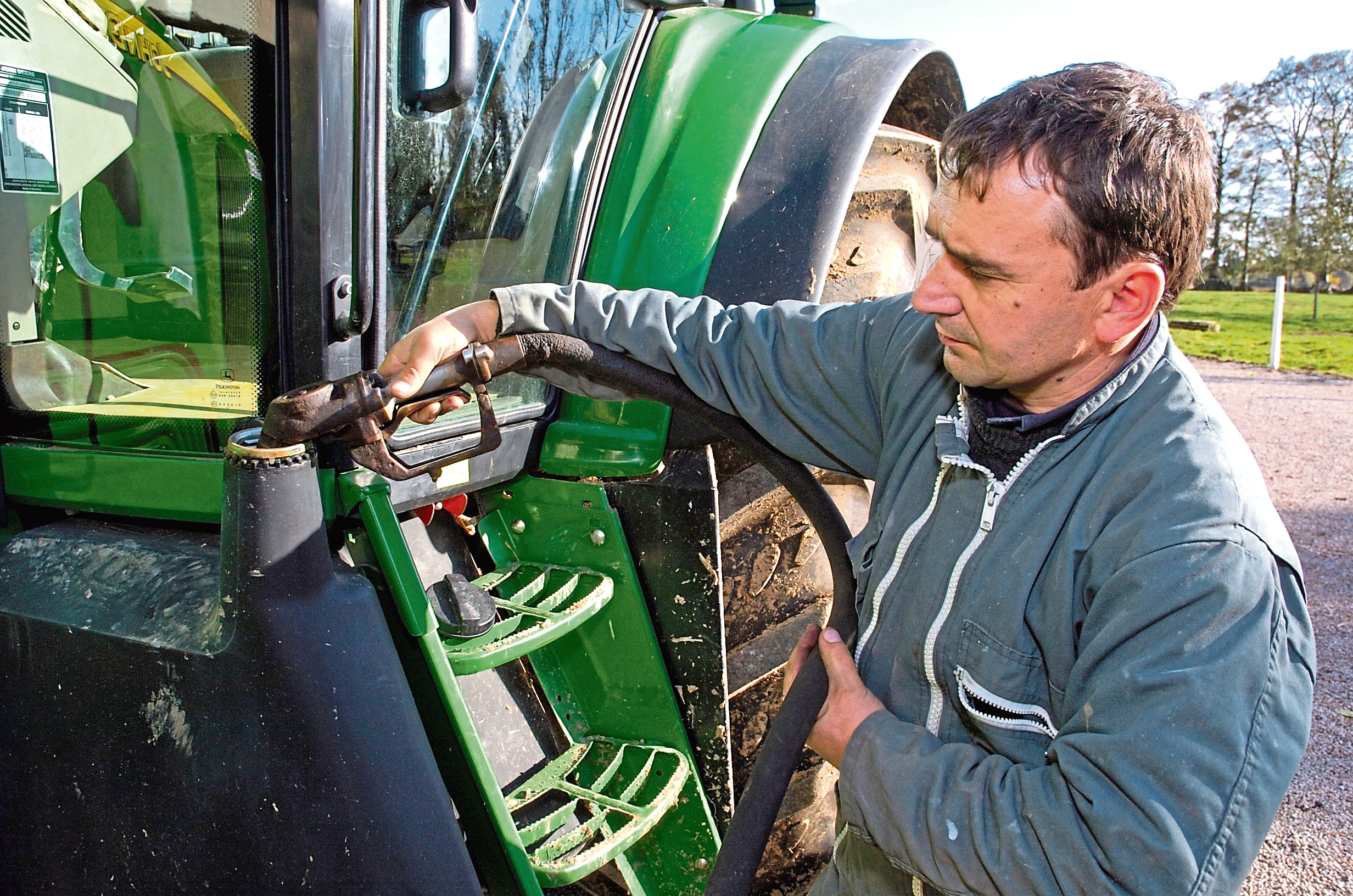 Fuel-related issues have been occurring since before the harvest.