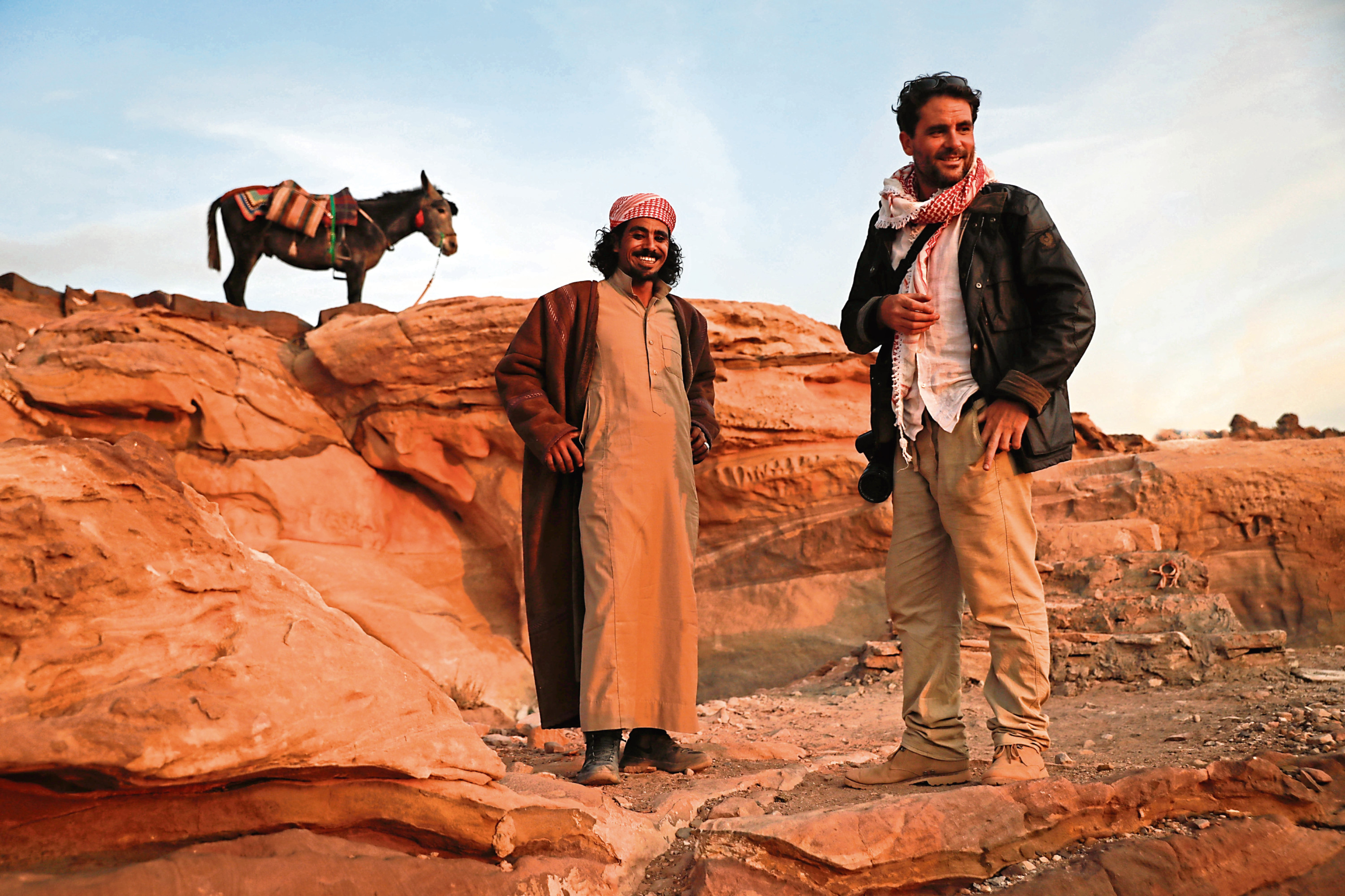 Levison Wood in Arabia.