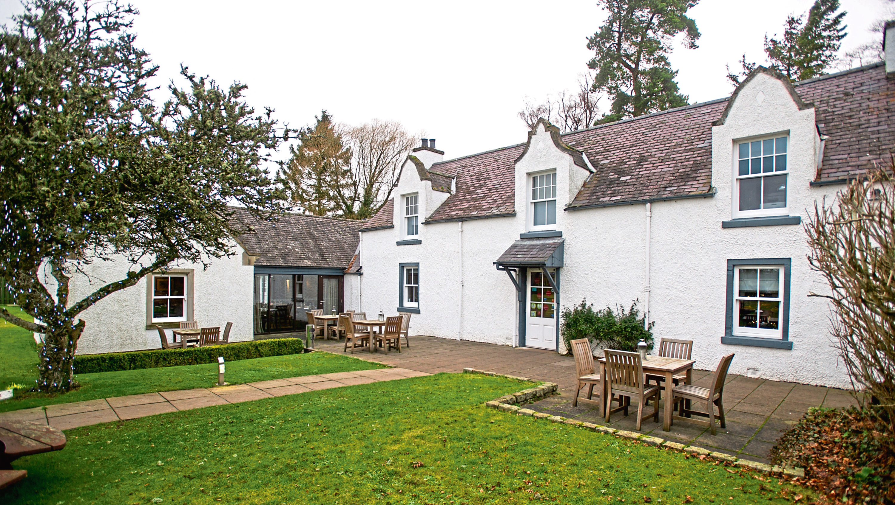 The  Drovers Inn at Memus. Pictures: Kim Cessford.