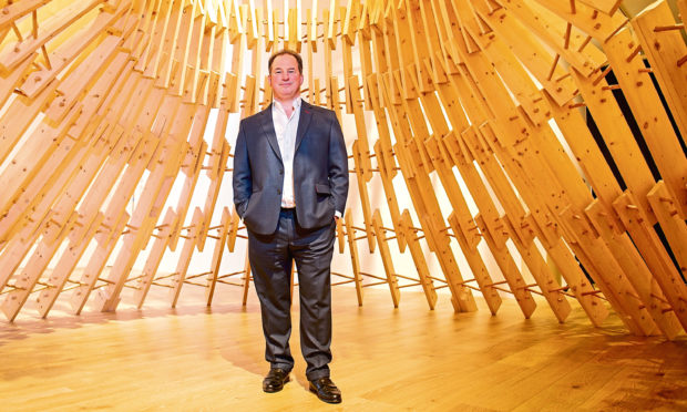 Tim Allan is also chair of V&A Dundee.