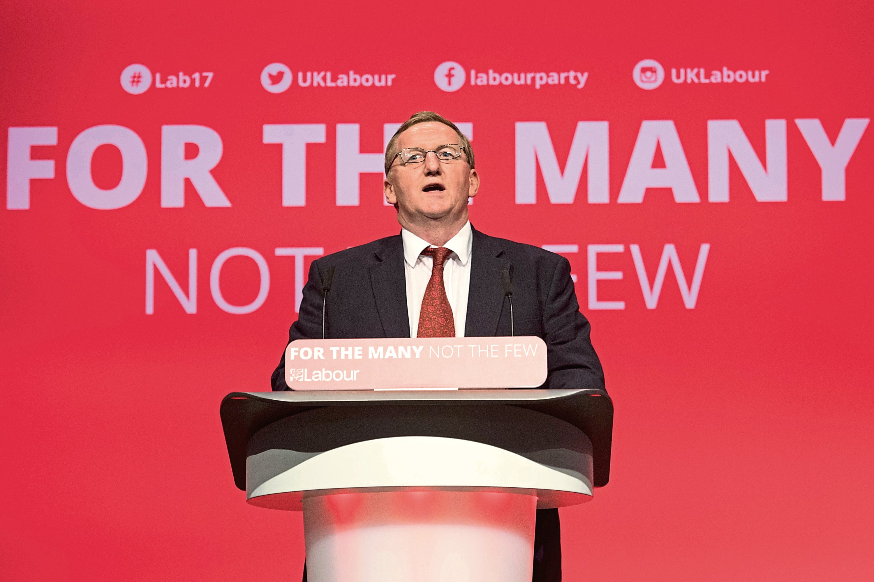 Leader of the Scottish Labour Party, Alex Rowley.
