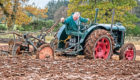 Dougie McNicoll is aiming to plough for 24 hours on a 1944 Fordson N tractor in order to raise cash for charity.