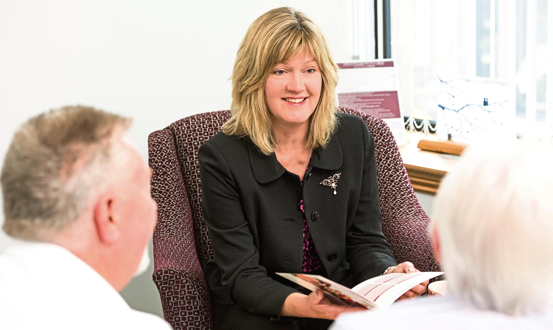 Crosbie Matthew Funeral Directors' managing director Sheila Matthew