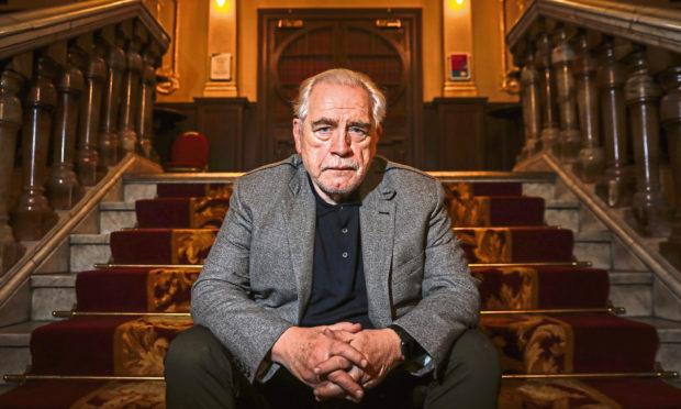 Brian Cox in Edinburgh in December 2019.