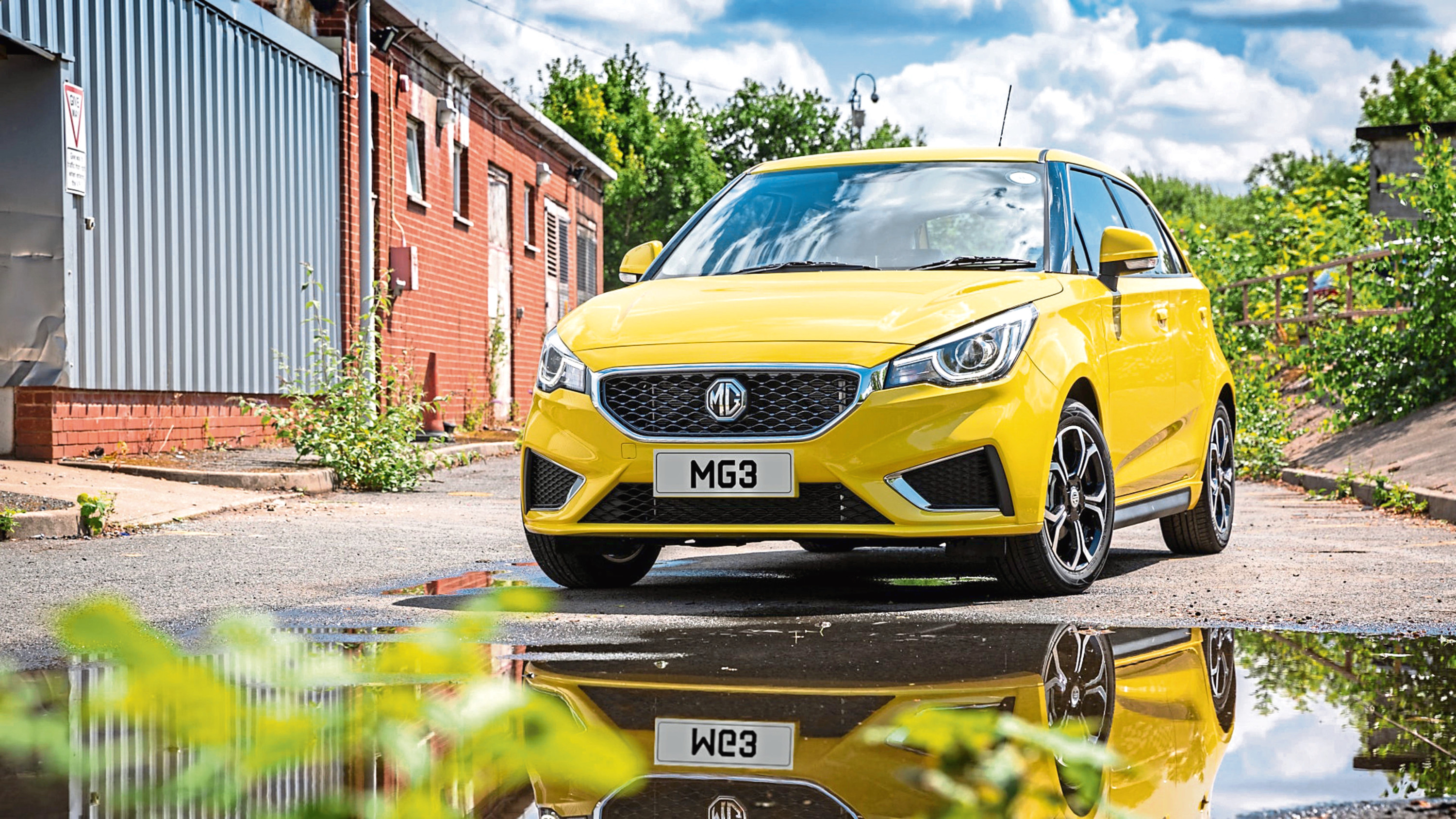 Undated Handout Photo from  MG  as the MG 3 range IS bolstered with Exclusive Nav trim. See PA Feature MOTORING News. Picture credit should read: MG/PA. WARNING: This picture must only be used to accompany PA Feature MOTORING News.