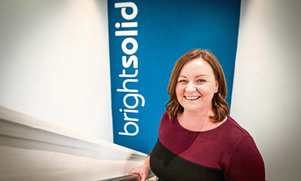 Brightsolid chief executive Elaine Maddison.