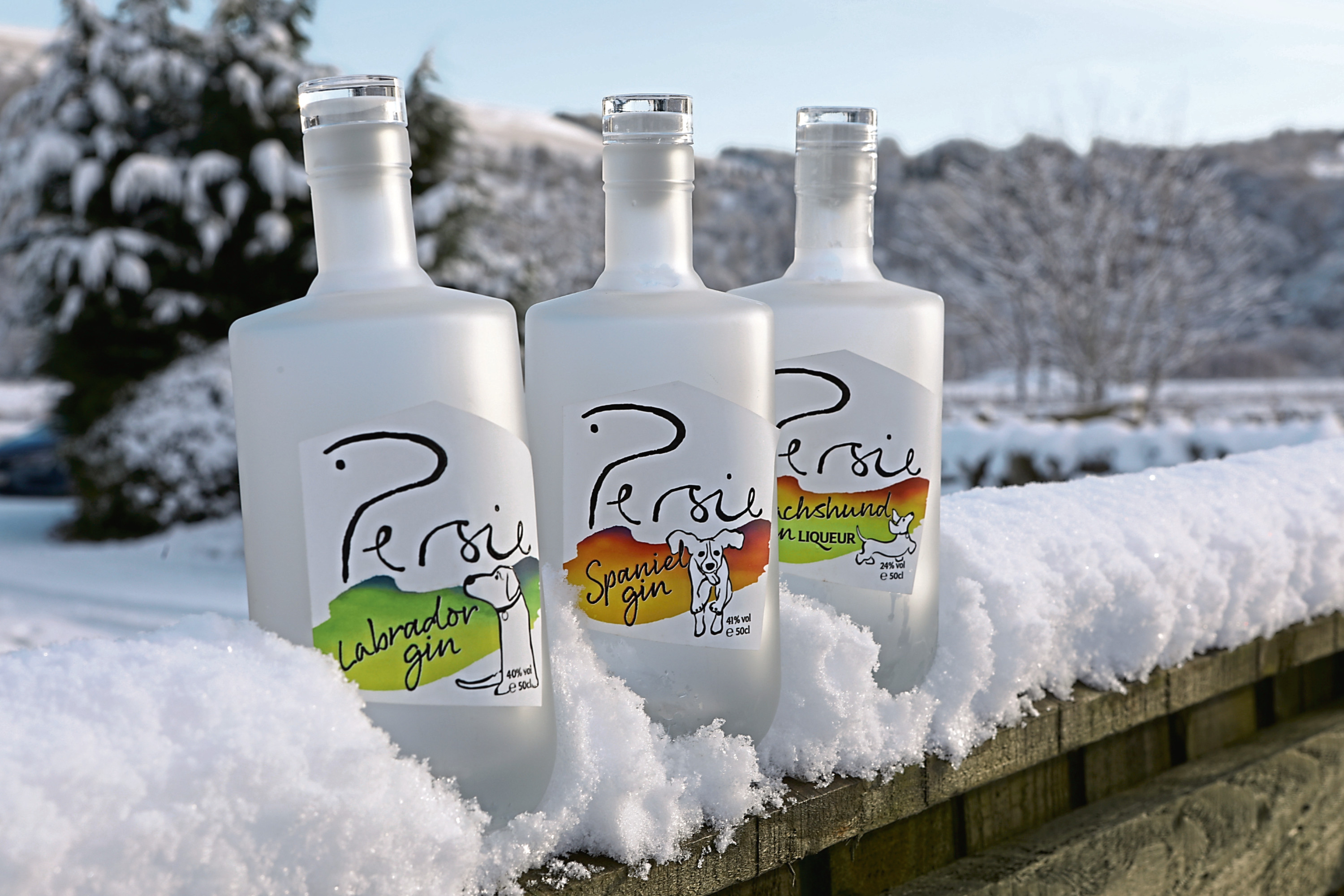 Persie Gin is a hit with dog-lovers and people from all walks of life!