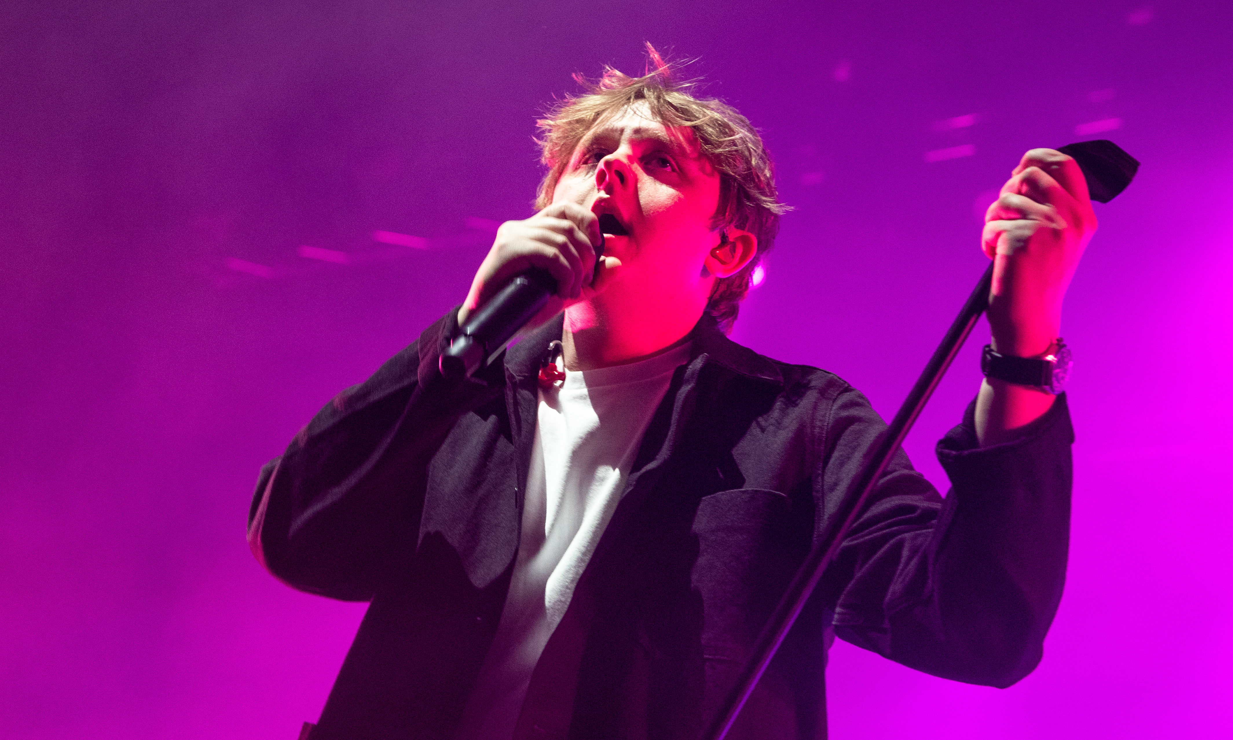 Lewis Capaldi, performing at the 2019 Perth Festival of the Arts