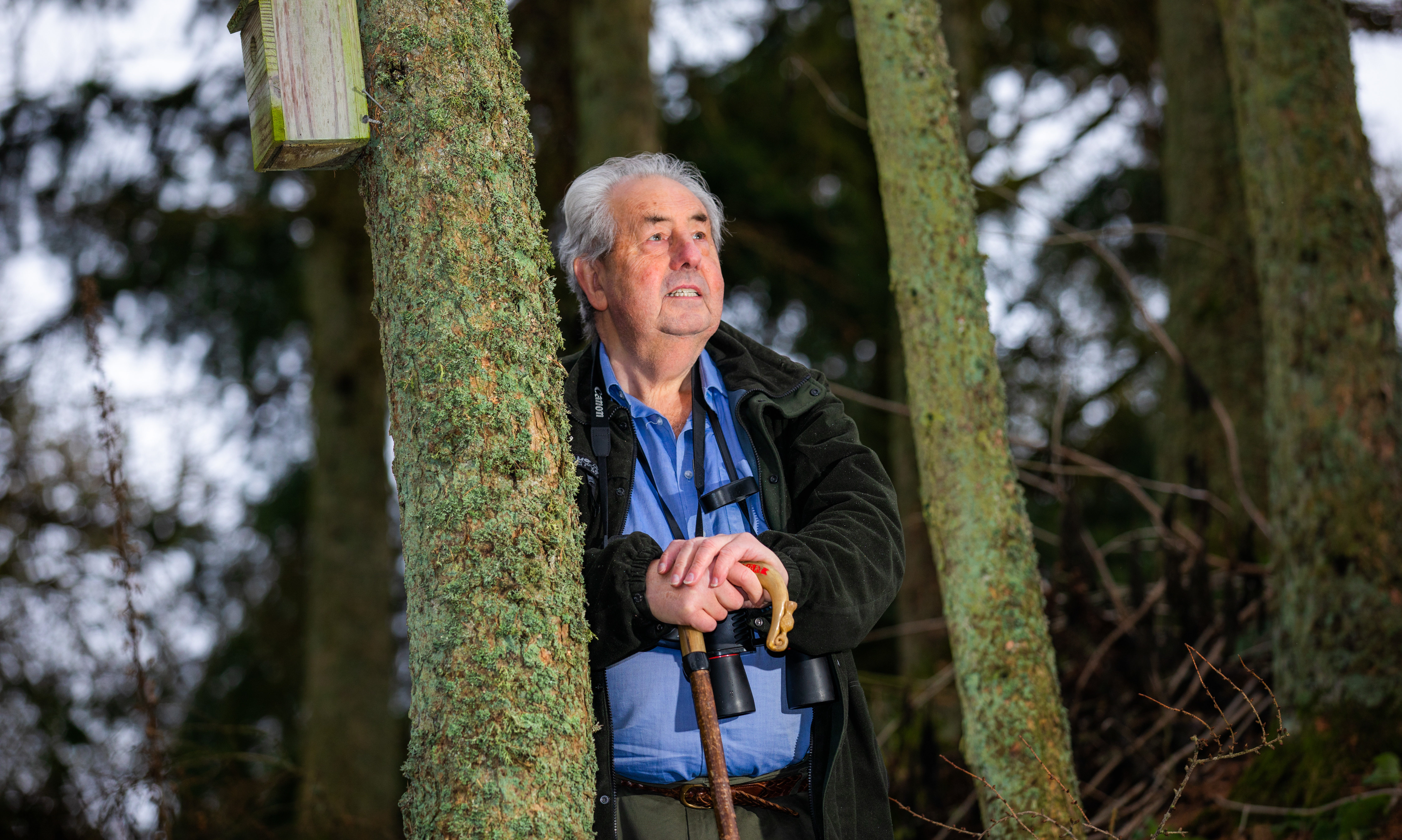 Former wildlife crime officer Alan Stewart has a new book '' Walking with Wildlife: A year on a Scottish estate ''