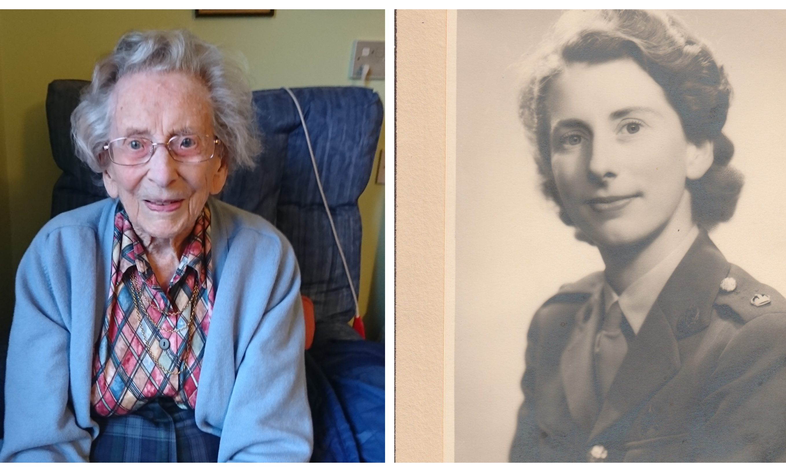 Anne Robson passed away aged 108.