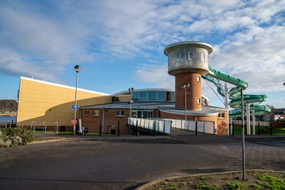 The Beacon Leisure Centre in Burntisland, which is run by Fife Sports and Leisure Trust.