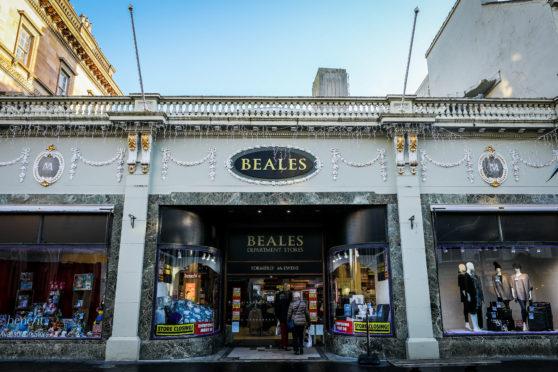 Beales in Perth.