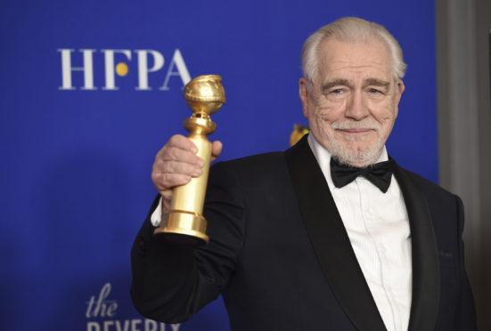 Brian Cox won a Golden Globe for best performance by an actor in a TV series following his role in drama Succession.
