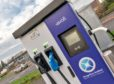 Public charging points are springing up across Scotland.