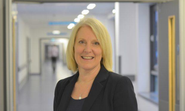 Carol Potter, chief executive of NHS Fife.