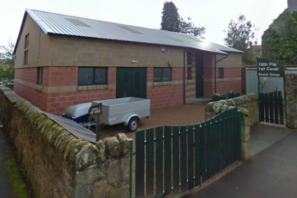 Cupar Scout Hall in Provost Wynd.