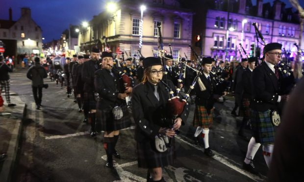 The parade made its way through Perth city centre to the Norie Miller Riverside Walk.