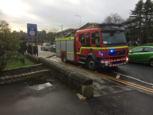 Fire crews were called to Adam Smith Theatre in Kirkcaldy during Fife Festival of Music.