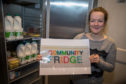 Lynsey Penny was the driving force behind the community fridge.
