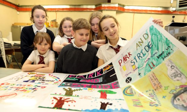 Rattray Primary School, Blairgowrie, has launched a Park and Stride initiative.
