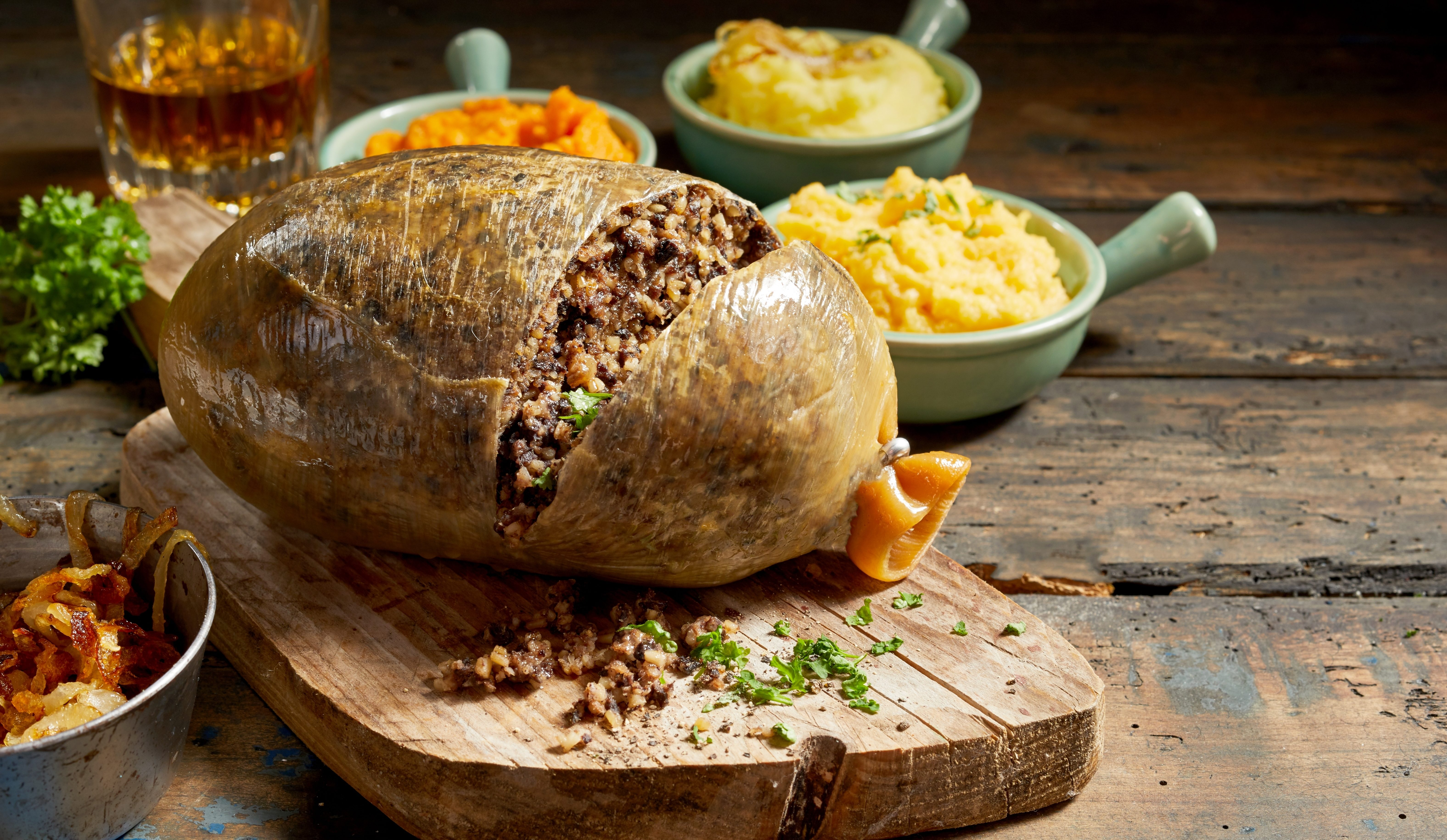 A simple, traditional Haggis for Burns Night.