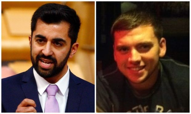 Humza Yousaf (left) and Steven Donaldson.