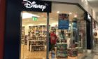The Disney store in Perth which is closing its doors on January 25.