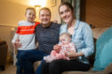 Karen Innes, husband Arthur, daughter Beth and son Rhuari