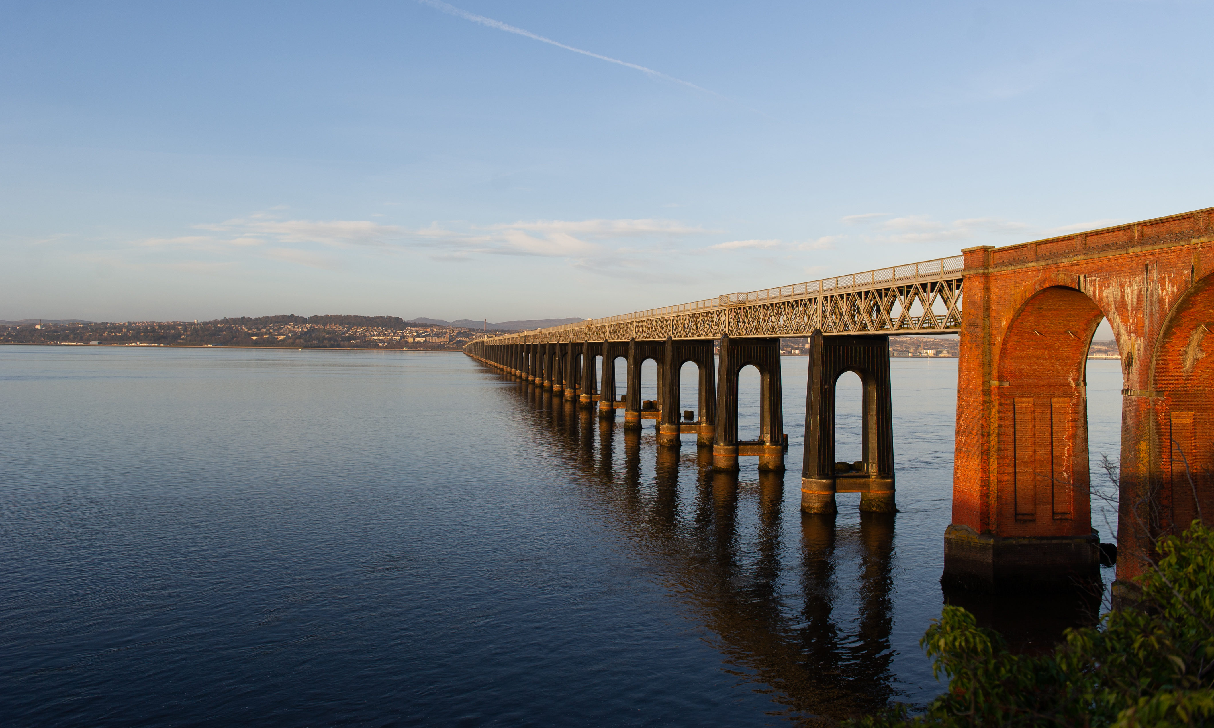 Communities on both sides of the Tay have high levels of infection.