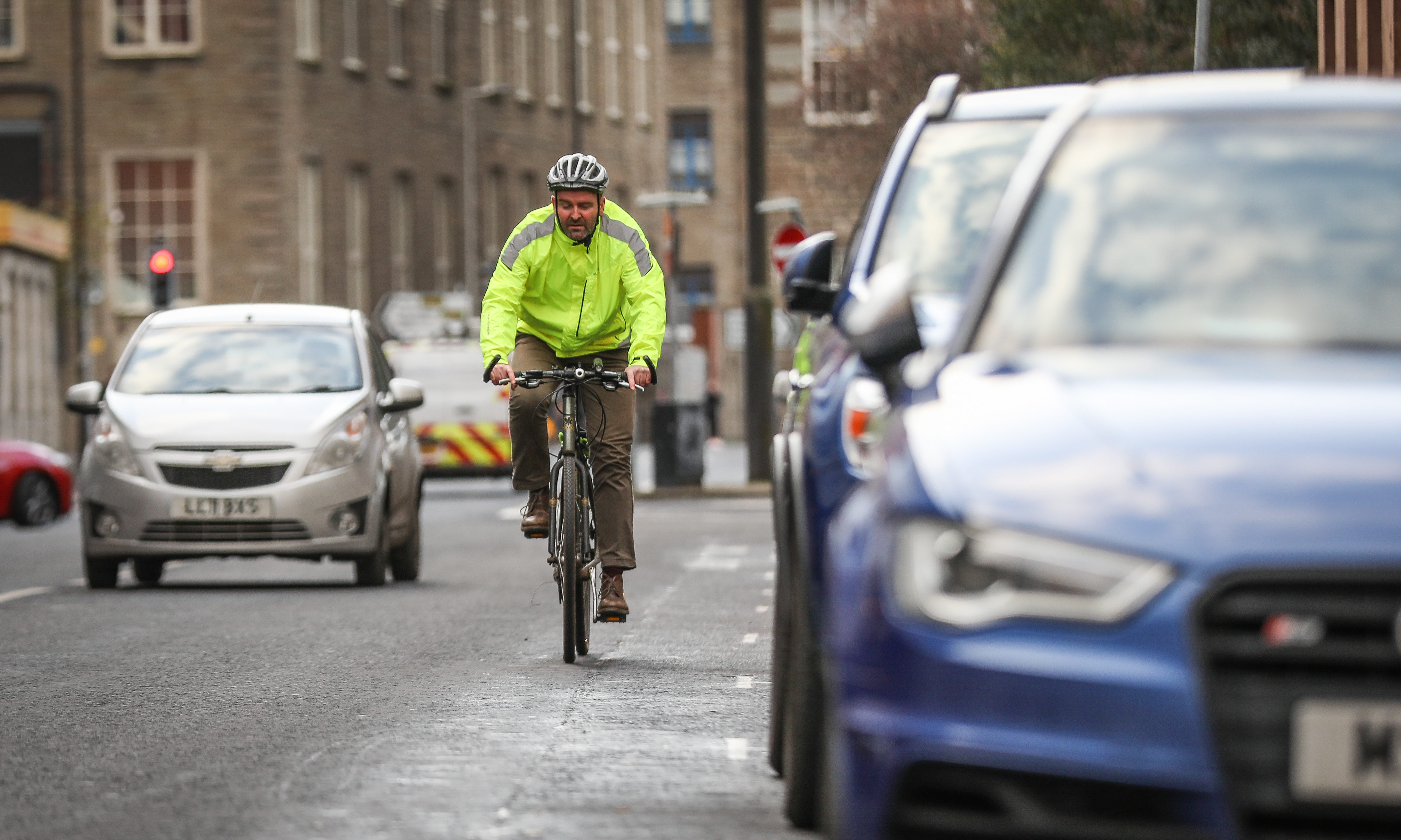 There are large gaps in the current cycle network in Dundee