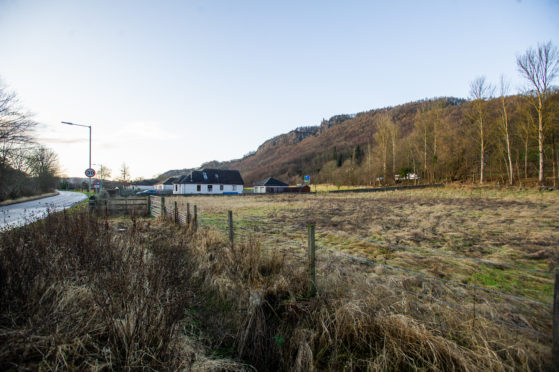 The site at Kinfauns where Perth Gospel Trust wants to build a new place of worship