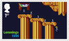 Lemmings postage stamp